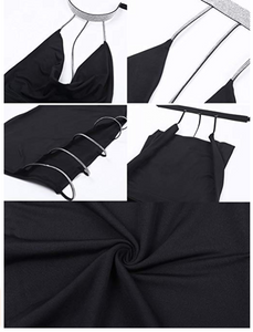 Club Dresses | Club Outfits | Party Dresses Dress, New Sexy Bandage Women Party Dress Fashion Chain Backless Dress Women Evening Club wear Elegant Lady Vestidos - Clubbing Love