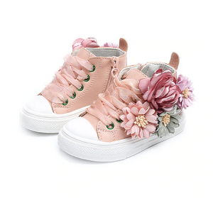 Club Dresses | Club Outfits | Party Dresses Autumn Flower Sneakers Girl Shoes, Clubbing Love™️  Limited Edition 3D Flower Sneakers For Girls - Clubbing Love