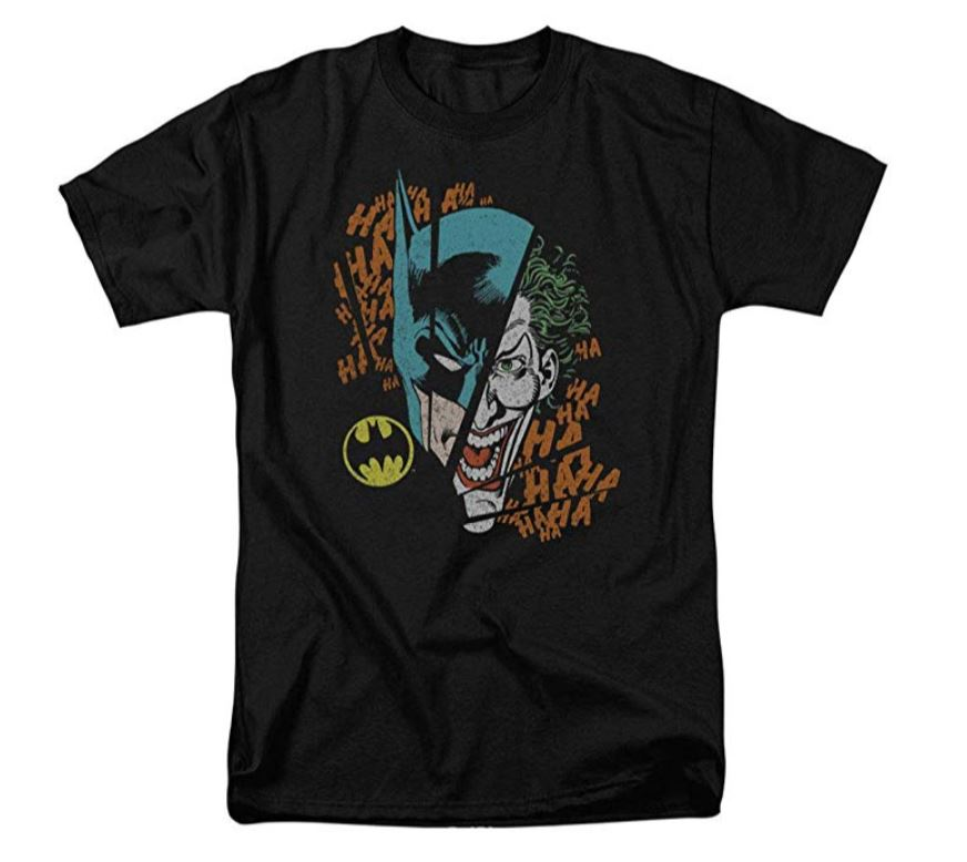 Club Dresses | Club Outfits | Party Dresses Batman Vs. The Joker Split T Shirt, Batman Vs The Joker T Shirt - Clubbing Love