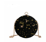 Club Dresses | Club Outfits | Party Dresses Starry Sky Circular Shoulder Chain Bag, Starry Sky Circular Shoulder Chain Bag - Clubbing Love