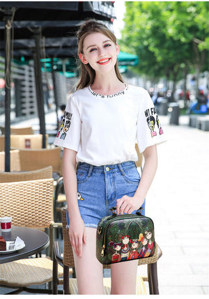 Small Crossbody Designer Shoulder luxury brand high quality PU leather ladies shoulder bag female handbag green purple red - Club Dresses | Party Dresses | Club Outfits. Club Dresses from ClubbingLove.com