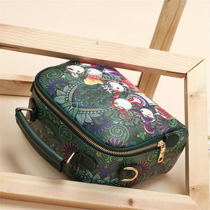 Small Crossbody Designer Shoulder luxury brand high quality PU leather ladies shoulder bag female handbag green purple red