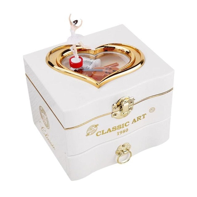 Club Dresses | Club Outfits | Party Dresses Classic Rotating Childhood Memories Ballerina Jewelry Box, Ballerina Jewelry Box Classic Rotating Childhood Memories - Clubbing Love