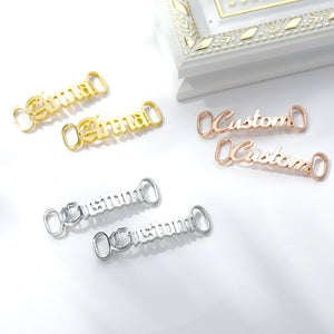 Personalized Shoe Buckle Nameplate CLUBBING LOVE ™️