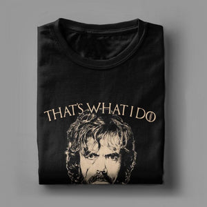 Club Dresses | Club Outfits | Party Dresses Game Of Thrones T-Shirt, Game Of Thrones T-Shirt I Drink And I Know Things Tees Tyrion Lannister  100% Cotton - Clubbing Love