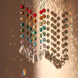 Club Dresses | Club Outfits | Party Dresses Crystal Glass Sun catcher Chakra with Multi Octagon Beads, Crystal Glass Sun catcher Chakra with Multi Octagon Beads - Clubbing Love