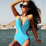 Club Dresses | Club Outfits | Party Dresses bikini, Sexy Bikini Women Swimsuit Bodysuits Tassel Lace Up Bandage  Swimsuits Sexy Gold and Black Swimwear - Clubbing Love