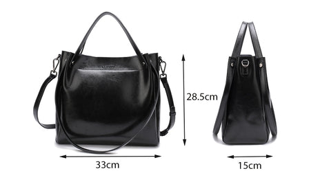 Image of Club Dresses | Club Outfits | Party Dresses bags, 100% Genuine Leather Tote Shoulder Bags Soft Women's Handbag Hot Crossbody Messenger Bag Women Shoulder Bag - Clubbing Love