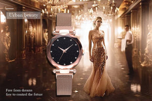 Club Dresses | Club Outfits | Party Dresses watches, Starry Sky Luxury Rose Gold Women Watches  Geometric Surface - Clubbing Love
