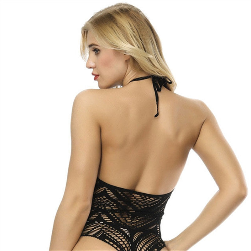 Club Dresses | Club Outfits | Party Dresses bodysuit, Women Sexy Fishnet Teddy Bodysuit - Clubbing Love