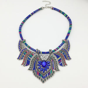 Club Dresses | Club Outfits | Party Dresses jewelry, Women's Boho Colorful Hollow Statement Chain Choker Necklace - Clubbing Love