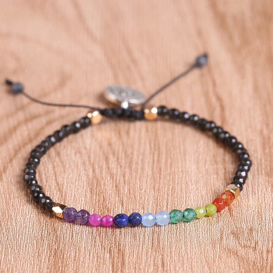 Club Dresses | Club Outfits | Party Dresses 12 Constellation Lucky Stone Beads Simple Bracelet, 12 Constellation Meditation Beads Bracelet 7 Chakra Bracelets Bohemian Lucky Stone 🧘‍♀️🙏 BUY ONE FREE ONE - Clubbing Love