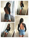Club Dresses | Club Outfits | Party Dresses bodysuit, Clubwear Bodysuit Backless Lace Patchwork Bodysuit Black Sexy Slim Women Club Summer Bodysuits Long Sleeve Skinny Hot Party Bodysuit - Clubbing Love
