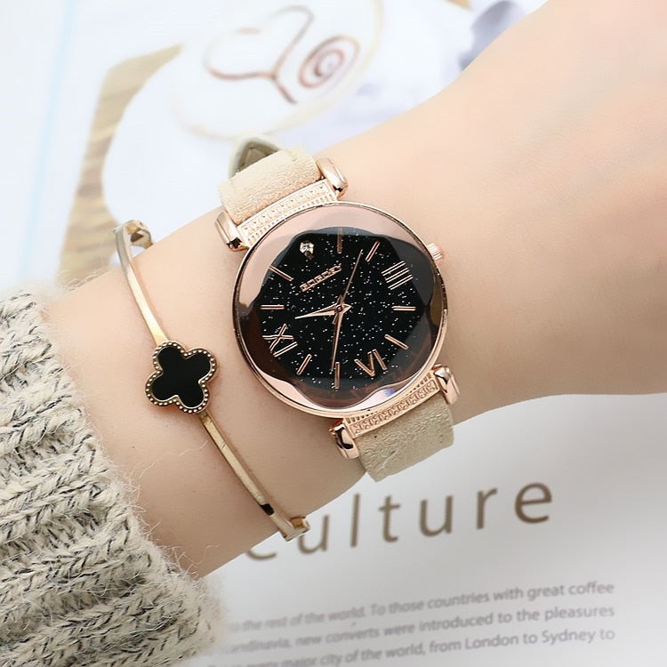 Club Dresses | Club Outfits | Party Dresses watches, Rose Gold Leather Watches Women ladies casual quartz wristwatch - Clubbing Love