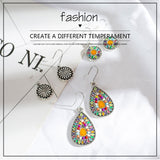 Club Dresses | Club Outfits | Party Dresses Jewelry, 3Pairs/Set Vintage Bohemian Boho Ethnic Dangle Drop Earrings for Women - Clubbing Love