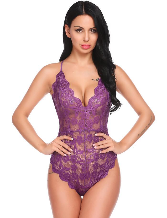 Club Dresses | Club Outfits | Party Dresses Teddy Lingerie One Piece Babydoll, Women Teddy Lingerie One Piece Babydoll Mini Bodysuit - Clubbing Love