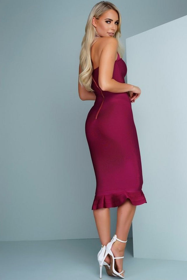 Club Dresses | Club Outfits | Party Dresses bandage bodycon dress, Mermaid Bodycon Bandage Cocktail Midi Dress - Clubbing Love