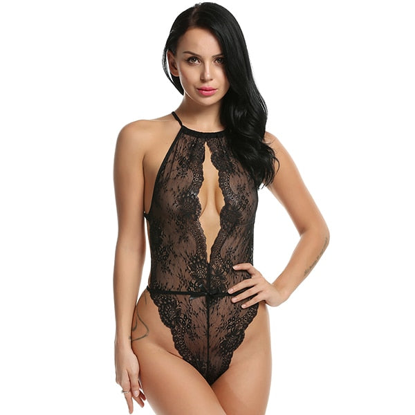 Club Dresses | Club Outfits | Party Dresses lingerie, Lingerie for Women Teddy One Piece Lace Babydoll Bodysuit Floral Lace Leather Lingerie Sexy Teddies - Clubbing Love