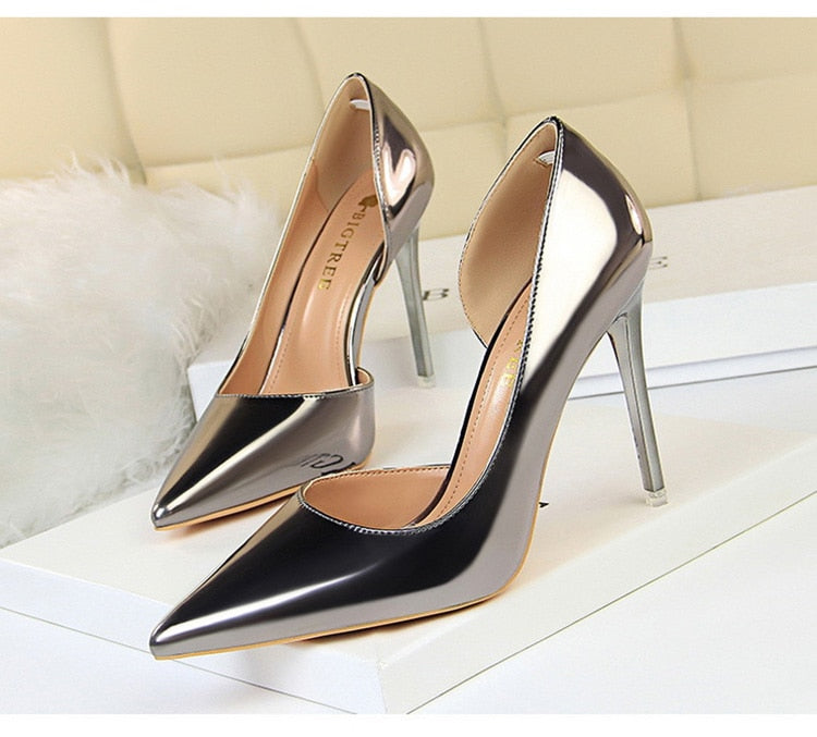 Club Dresses | Club Outfits | Party Dresses Shoes, High Heels, Women's Pointed Toe Slip on Stilettos Party Wedding Pumps Sexy Shoes Party Club wear Shoes - Clubbing Love