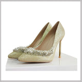 Club Dresses | Club Outfits | Party Dresses shoes, Woman Sexy Pumps Gold Beading Wedding Shoes Pointed Toe Shoes - Clubbing Love