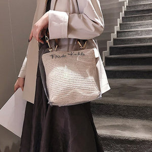 Club Dresses | Club Outfits | Party Dresses Bamboo Weave Clear Jelly Shoulder Bags, Bamboo Weave Clear Jelly Shoulder Bags - Clubbing Love