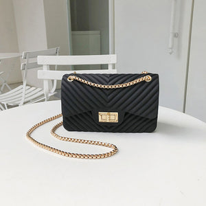 Club Dresses | Club Outfits | Party Dresses Mini Small Chain Jelly Bag, Mini Small Chain Jelly Bag - Clubbing Love