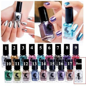 Club Dresses | Club Outfits | Party Dresses Under $9.99, Mirror Nail Polish Awesome Metallic Mirror Full Size Lacquer Lot of 18-pc Set - Clubbing Love