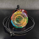 Om Chakra Healing Energy Necklace