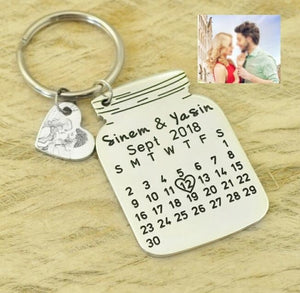 Club Dresses | Club Outfits | Party Dresses Personalized Calendar Key chains, CLUBBING LOVE ™️ Personalized Calendar Key chains - Clubbing Love