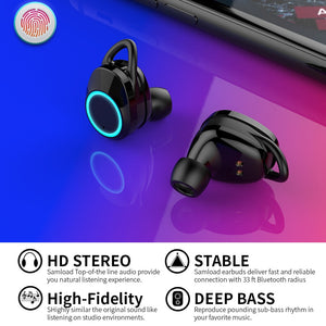 Clubbing Love™️  Waterproof Wireless Earbuds
