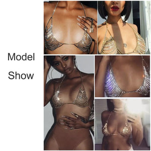 Club Dresses | Club Outfits | Party Dresses Sexy Crystal Bra, Sexy Crystal Bra - Clubbing Love