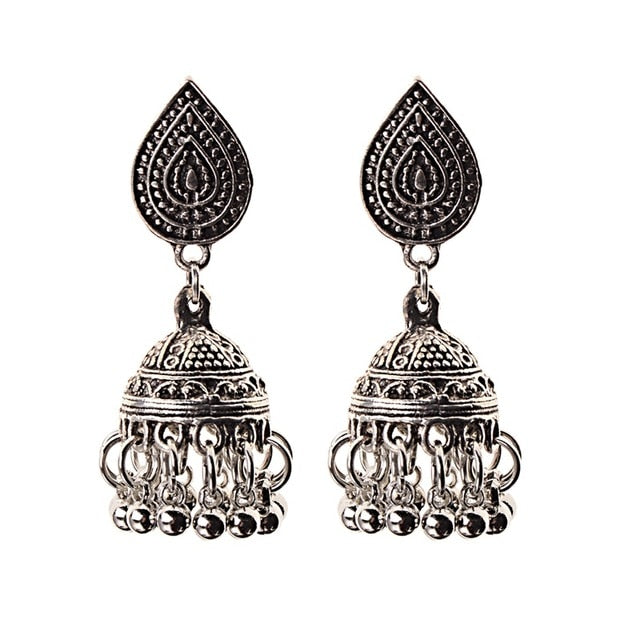 Club Dresses | Club Outfits | Party Dresses Jewelry, Indian Vintage Bollywood Traditional Jhumka Jhumki Earrings for Women and Girls - Clubbing Love