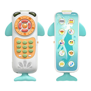 Club Dresses | Club Outfits | Party Dresses Baby whale mobile phone toy, Functional Remote Mobile Phone Toy Puzzle Early Educational Smartphone Touch Simulated Touch Screen Phone Toys with Sound Music for 12 Month Baby - Clubbing Love