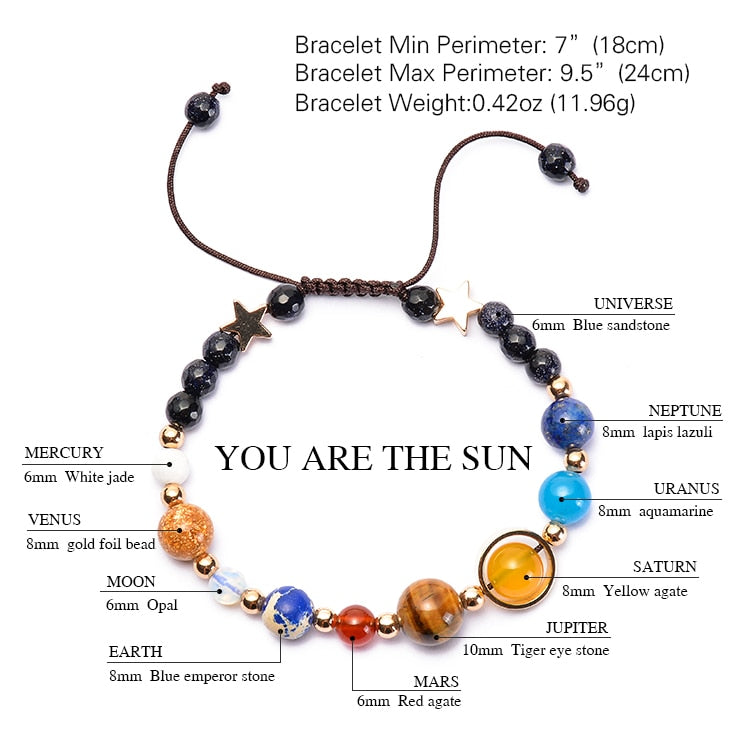 Club Dresses | Club Outfits | Party Dresses Solar System Bracelet, Solar System Bracelet Universe Galaxy The Eight Planets 🧘‍♀️🙏 BUY ONE FREE ONE - Clubbing Love