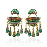 Club Dresses | Club Outfits | Party Dresses Under $9.99, Women Geometric Earrings Vintage Tassel Pendant Earring Bohemia - Clubbing Love