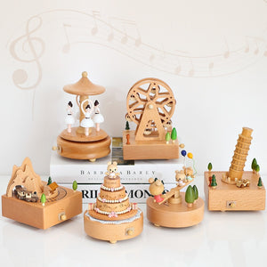 CLUBBING LOVE ™️ Personalised Wooden Music Box