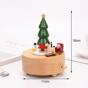 Club Dresses | Club Outfits | Party Dresses Wooden Christmas Carousel Music Box, Wooden Christmas Carousel Music Box - Clubbing Love