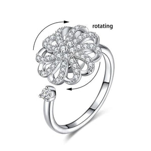 Clubbing Love ™️ Crystal Rotating Rings