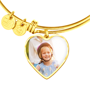 Personalized Heart Shaped Pendant | Upload Your Picture