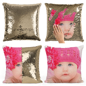 Club Dresses | Club Outfits | Party Dresses PERSONALIZED PHOTO SEQUIN PILLOW CUSHION COVER, Clubbing Love ™️  PERSONALIZED PHOTO SEQUIN PILLOW CUSHION COVER - Clubbing Love