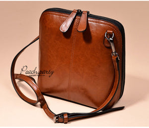 Genuine leather women's shoulder bags women's shell cross body bag famous brand designer ladies shoulder messenger bags - Club Dresses | Party Dresses | Club Outfits. Club Dresses from ClubbingLove.com