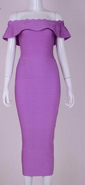 Club Dresses | Club Outfits | Party Dresses Dress, Women's Sexy Bandage Rayon Off Shoulder Bandage Bodycon Dress Party Clubwear  Celebrity Evening Party Dress - Clubbing Love