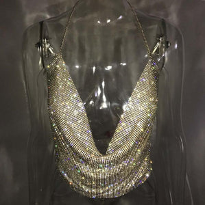 Club Dresses | Club Outfits | Party Dresses jewelry, Jewelry | Handmade Shiny Rhinestones Crop - Clubbing Love