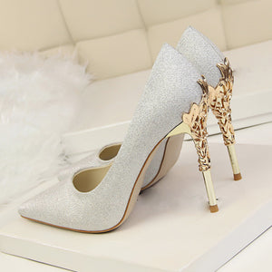 Luxury-satin Shoes - Club Dresses | Party Dresses | Club Outfits. Club Dresses from ClubbingLove.com