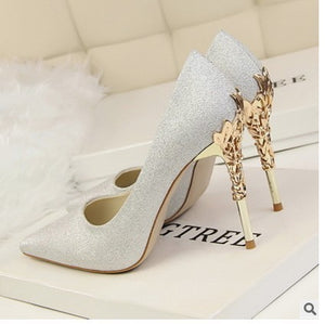 Shoes | Luxury-satin Shoes - Club Dresses | Party Dresses | Club Outfits. Club Dresses from ClubbingLove.com
