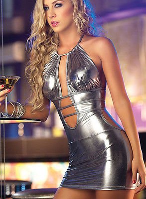 Leather Jessa - Club Dresses | Party Dresses | Club Outfits. Club Dresses from ClubbingLove.com