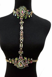 Club Dresses | Club Outfits | Party Dresses jewelry, Jewelry | Multicolor Crystal Choker - Clubbing Love
