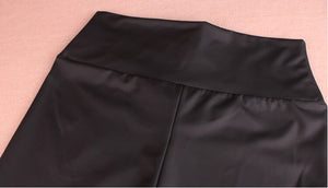 Club Dresses | Club Outfits | Party Dresses Legging, Women's Stretchy Faux Leather Leggings Pants, Sexy Black High Waisted Tights - Clubbing Love