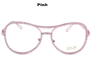 Sunglasses | Double Bridge Sun Glasses - Club Dresses | Party Dresses | Club Outfits. Club Dresses from ClubbingLove.com