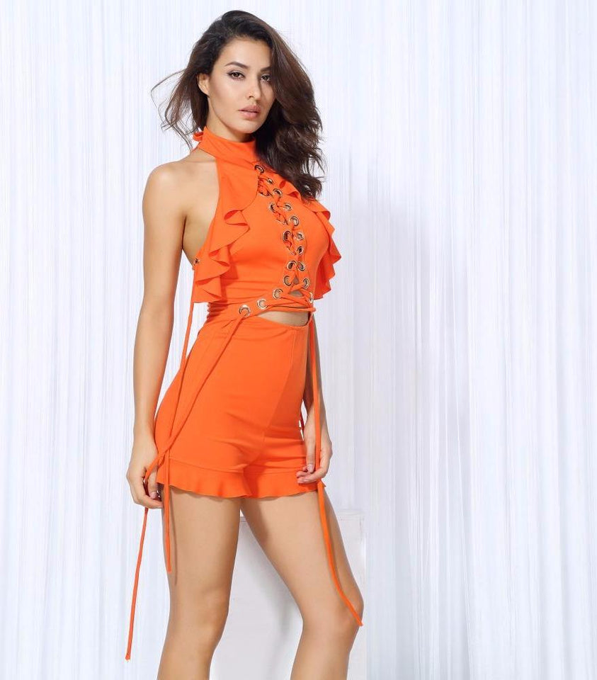 Club Dresses | Club Outfits | Party Dresses Dress, Club Dresses | Party Dresses | Sexy Orange Playsuit - Clubbing Love